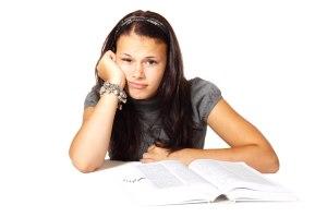 aburrida estudiar